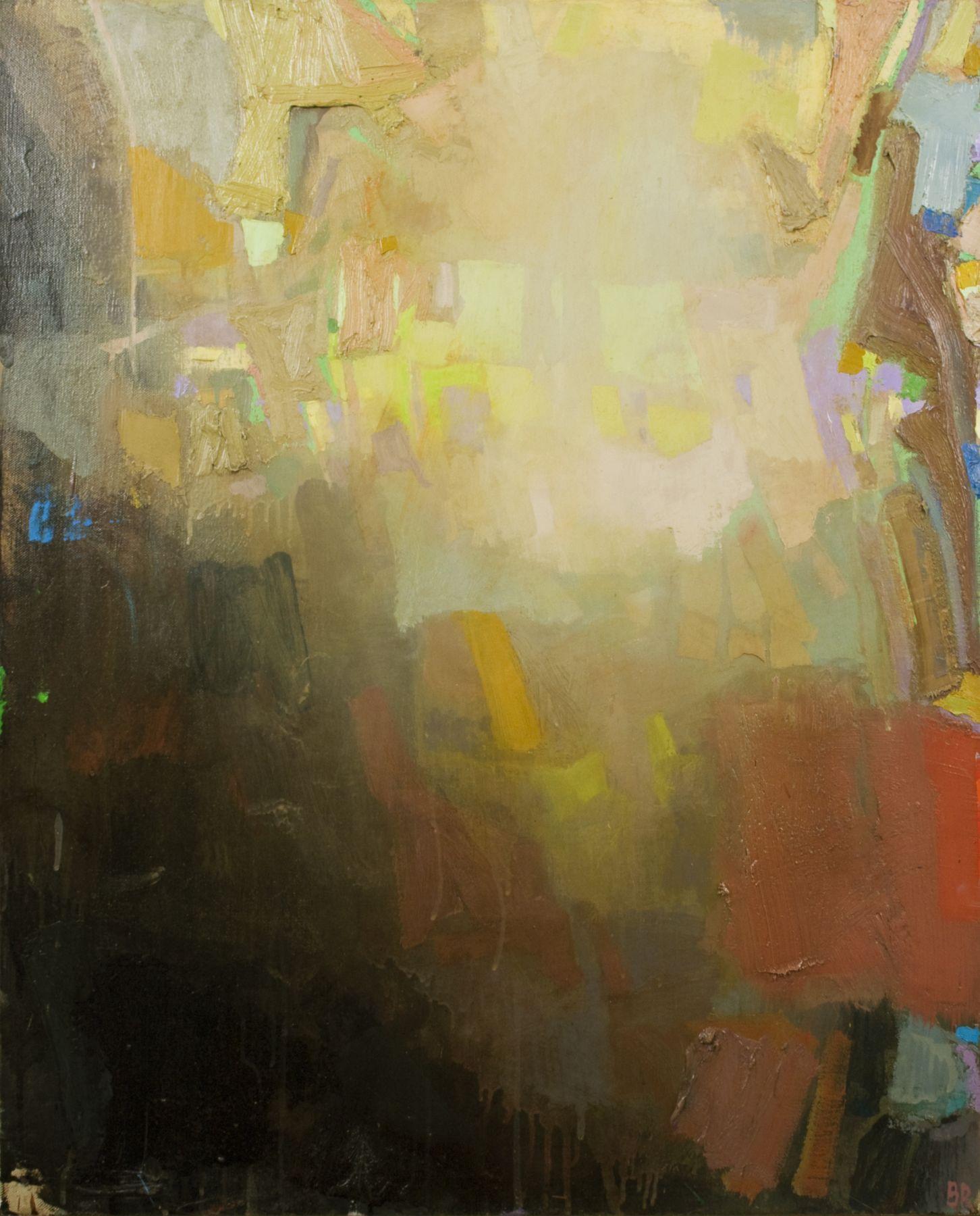 Brian Rutenberg Gainsborough Suite 2, 2010, oil on linen, 32 x 26 inches