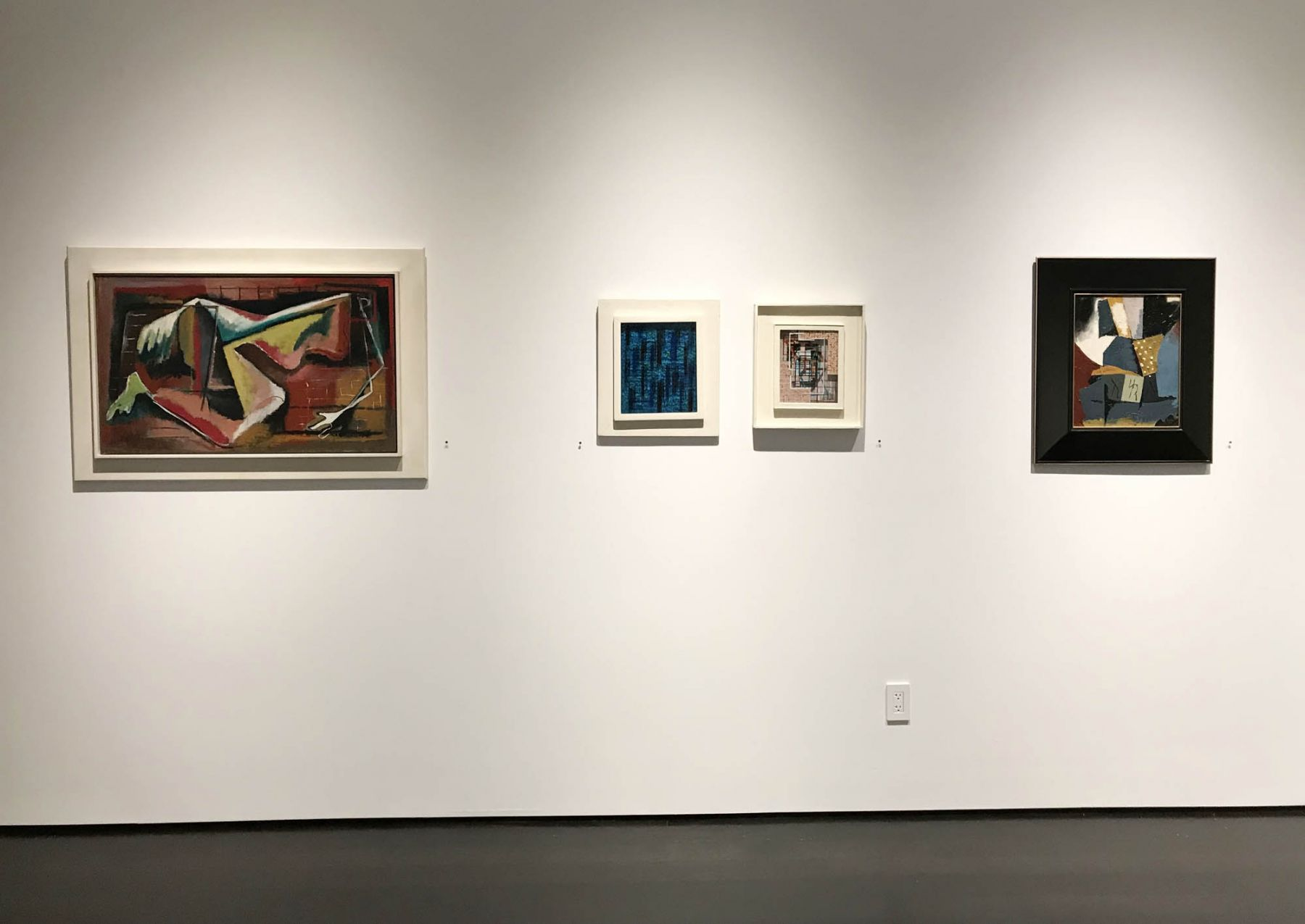 installation photo: Landmarks of 20th Century American Art, Forum Gallery, New York, NY, November 8, 2018 - February 2, 2019