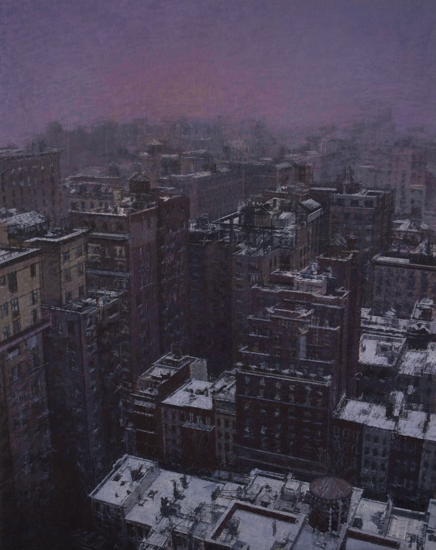 Bernardo Siciliano, The Storm (SOLD), 2011, oil on linen, 43 1/2 x 31 1/2 inches