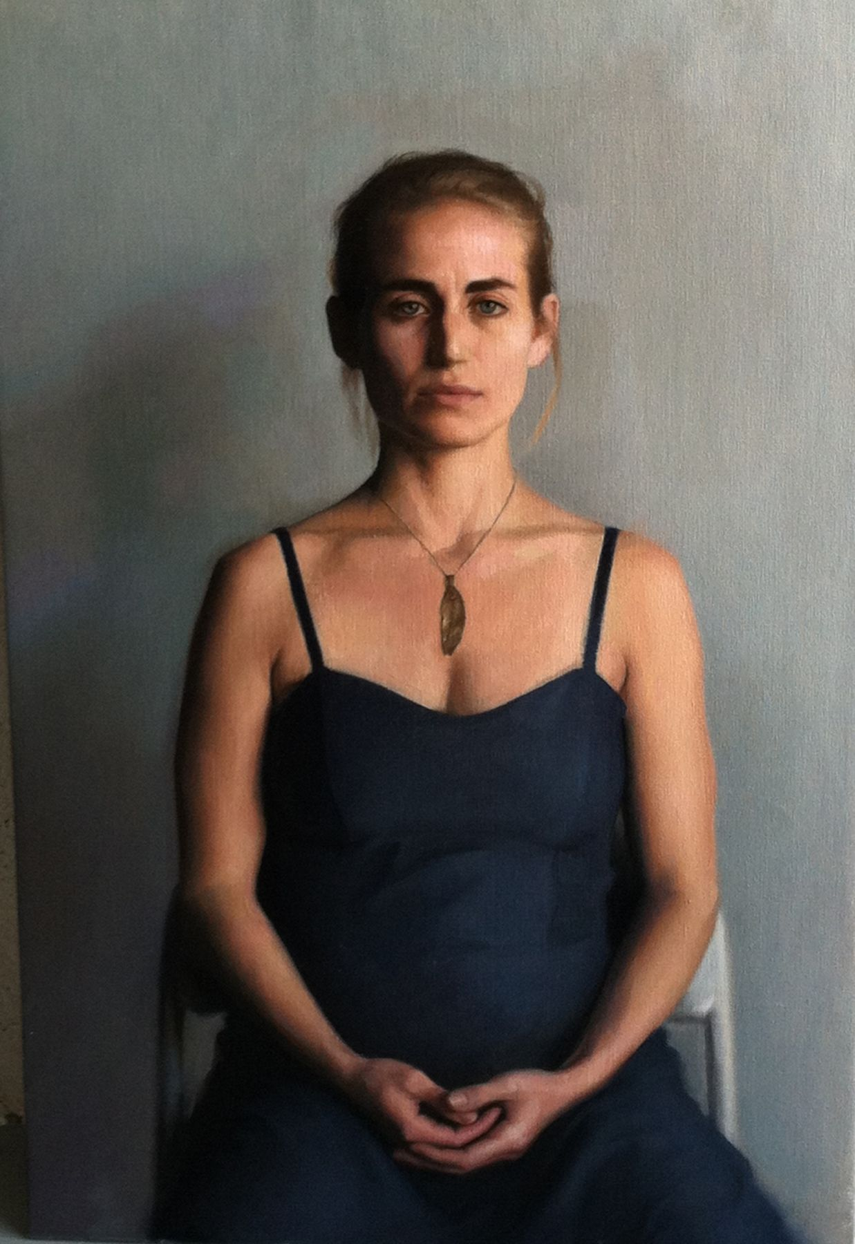 Jesus Villarreal, Rachel, 2012-13, oil on linen, 25 1/2 x 38 1/4 inches