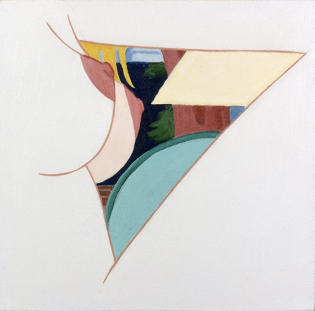 Tom Wesselmann, Study for Bedroom Painting #57, 1983 oil on canvas 8 x 8 1/8 inches