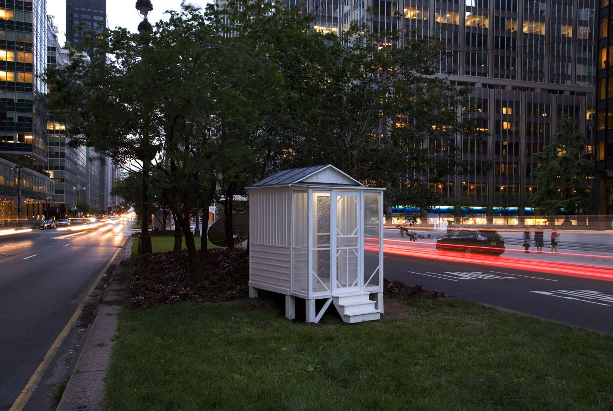 Tourist Cabins on Park Avenue