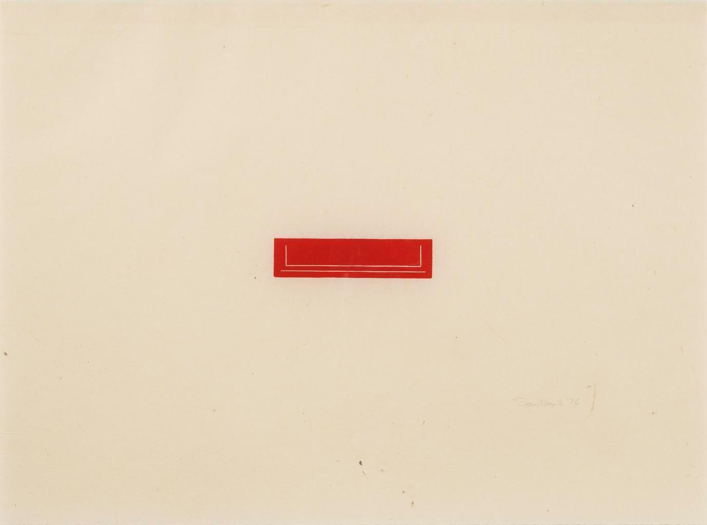 1976, Medium: Woodcut