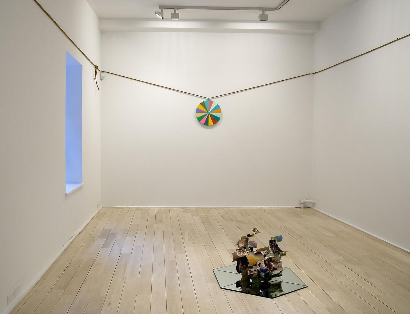 Installation view, Ry Rocklen, Good Heavens, Marc Jancou, New York, March 5 - April 11, 2009