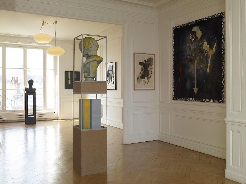 Installation view, Rive Gauche / Rive Droite, Jean Marcel Camard, Paris, September 9 - September 25, 2010