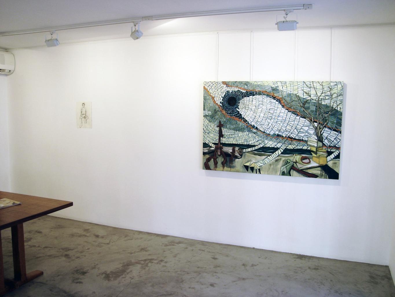 Installation View, Me.di.um, St. Bathelemy, 2006