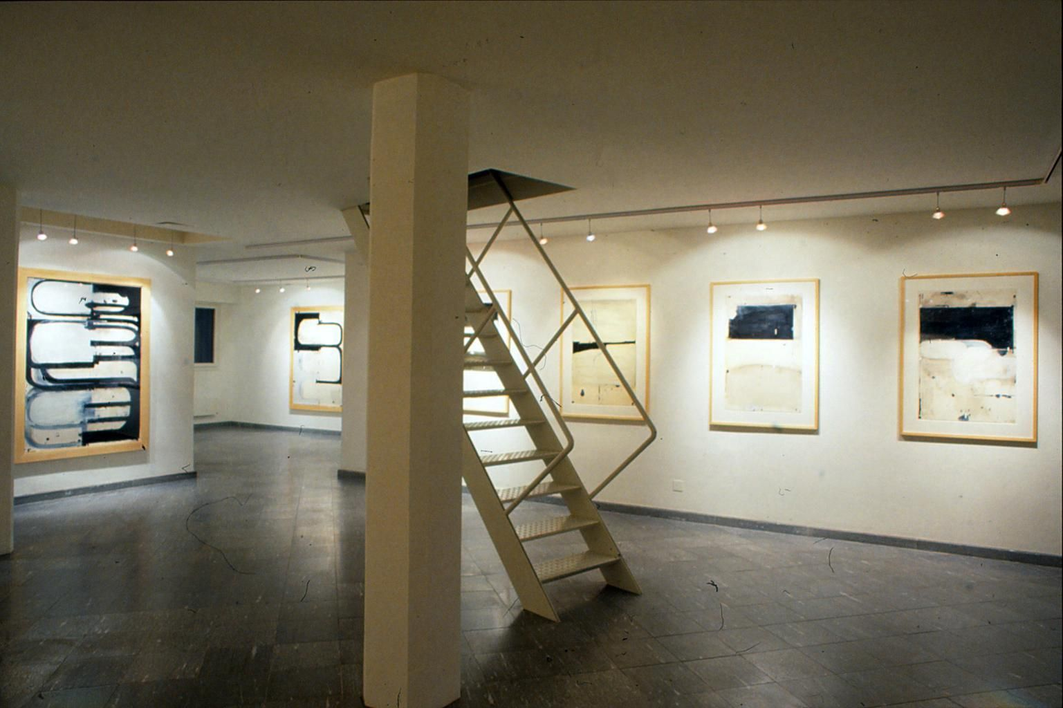 Installation View, John Millei: Drawings, Marc Jancou, Zurich, 1991