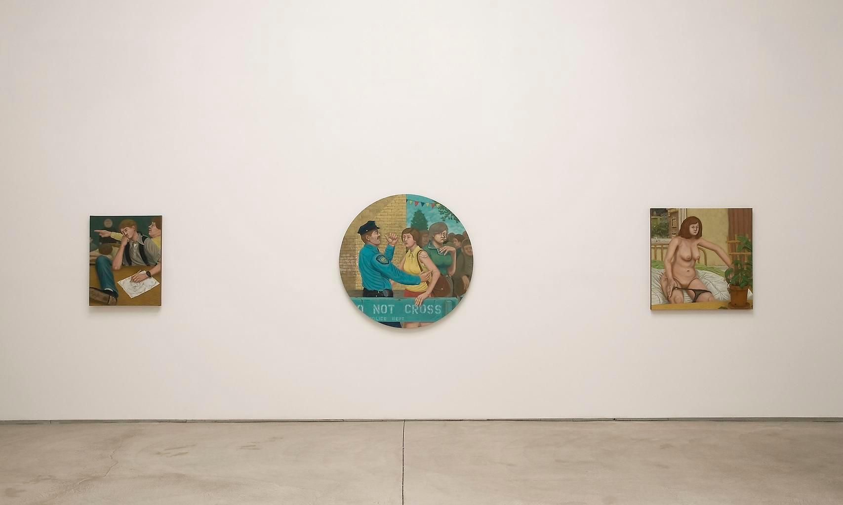Installation view, Michael Cline, Fifth Column, Marc Jancou, New York, September 10 - October 30, 2009