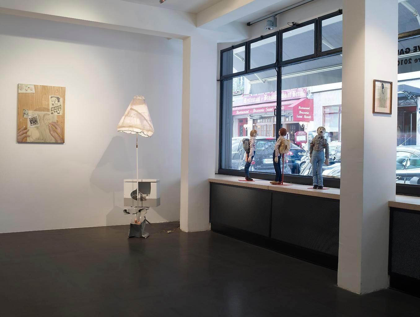 Installation view, Rive Gauche / Rive Droite, Catherine Houard, Paris, September 9 - September 25, 2010