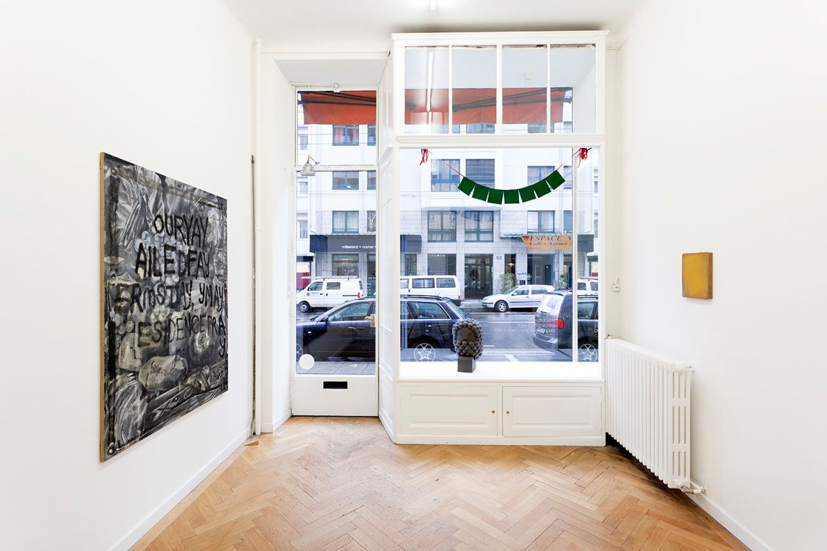 Installation view, Winter Show/Exposition d'Hiver, Marc Jancou Contemporary, Geneva, December 18, 2013 - March 8, 2014