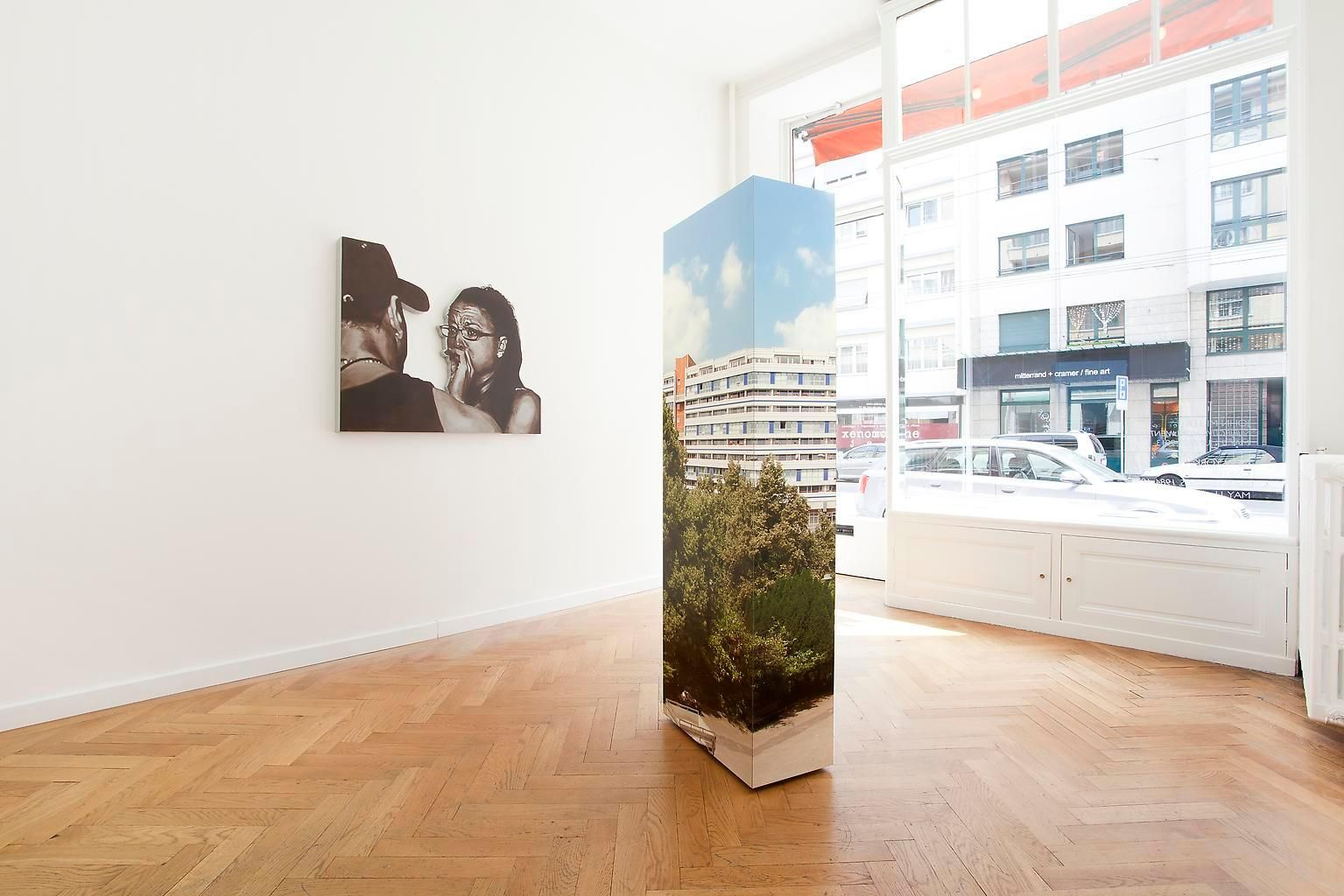 Installation view, John Miller, Subjective Monuments, Marc Jancou, Genvas, May 2 - July 27, 2013