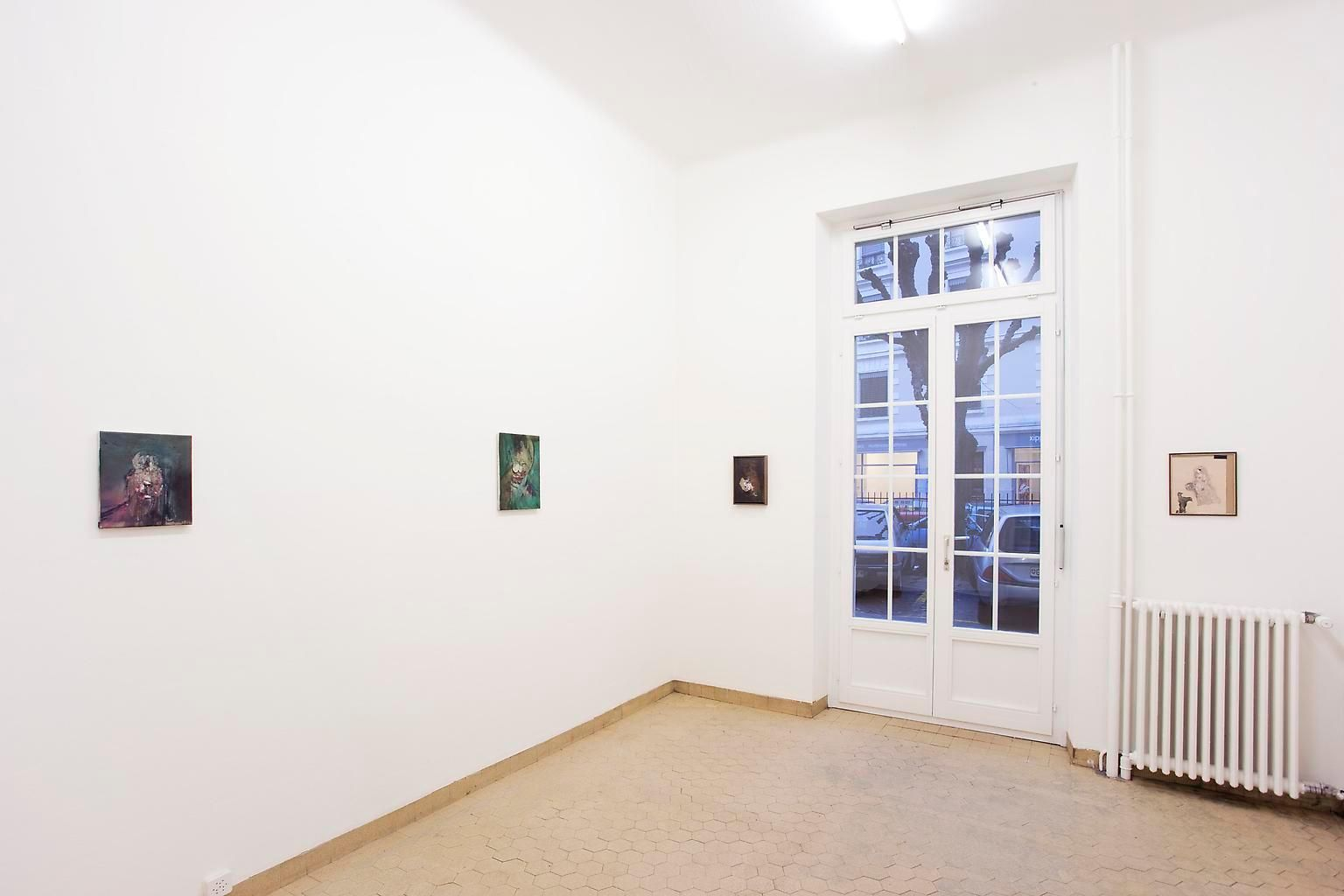 Installation view, Ross Chisholm, The Garden, Marc Jancou, Geneva, January 19 - March 10, 2012