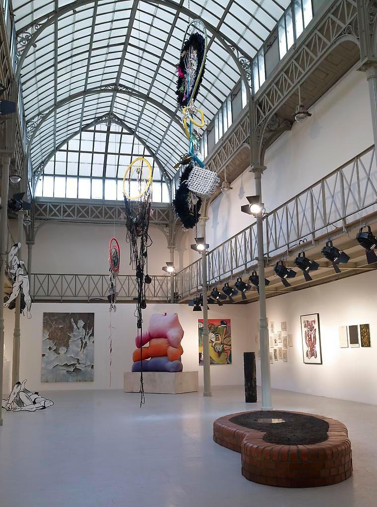 Installation view, Rive Gauche / Rive Droite, Azzedine Alaia, Paris, September 9 - September 25, 2010