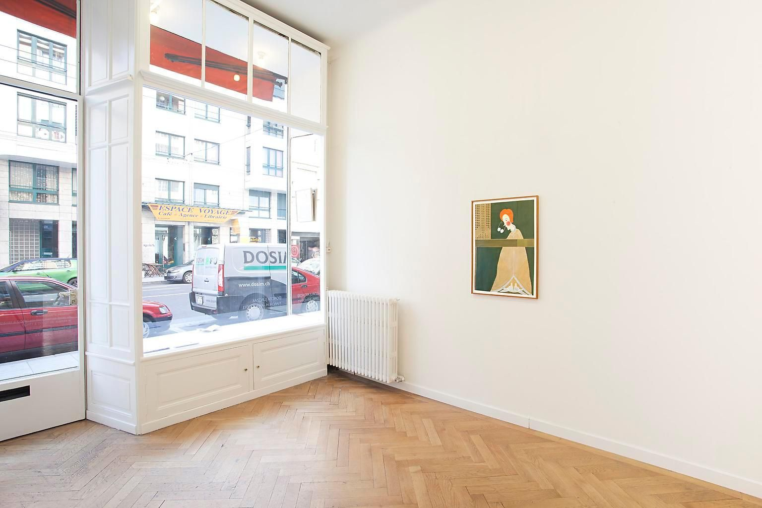 Installation view, Dorota Jurczak, Marc Jancou, Geneva, March 14 - April 27, 2014
