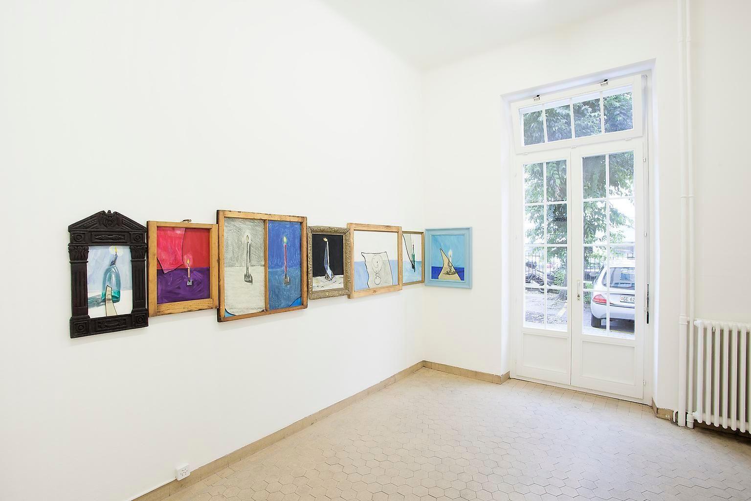 Installation view, Vahakn Arslanian, Wings of Light, Marc Jancou, Geneva, September 12 - November 2, 2013
