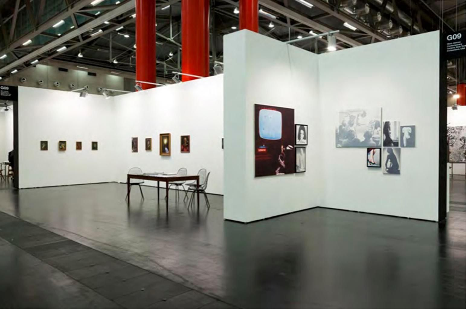 Installation view, Marc Jancou at Viennafair, September 20 - 23, 2013, 	Slawomir Elsner: Panorama