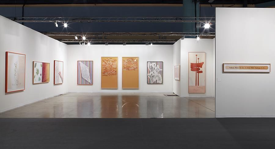 Installation view, Larry Johnson, Marc Jancou at Art Basel Miami Beach, November 30 - December 4, 2011