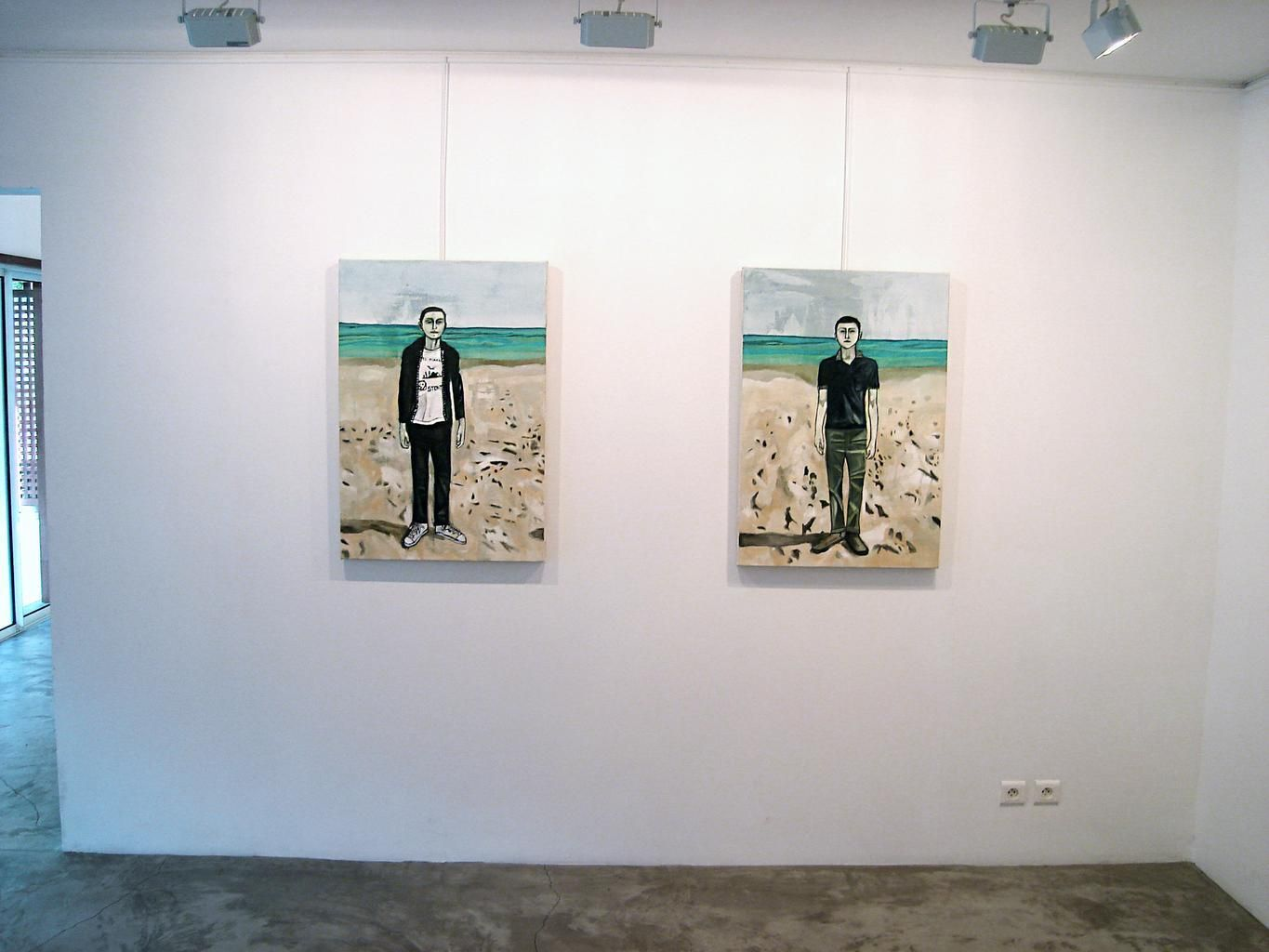 Installation View, Me.di.um, St. Bathelemy, 2006