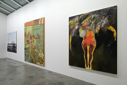 Installation view, In Geneva No One Can Hear You Scream, Blondeau & Cie, Geneva, March 13 - April 26, 2008