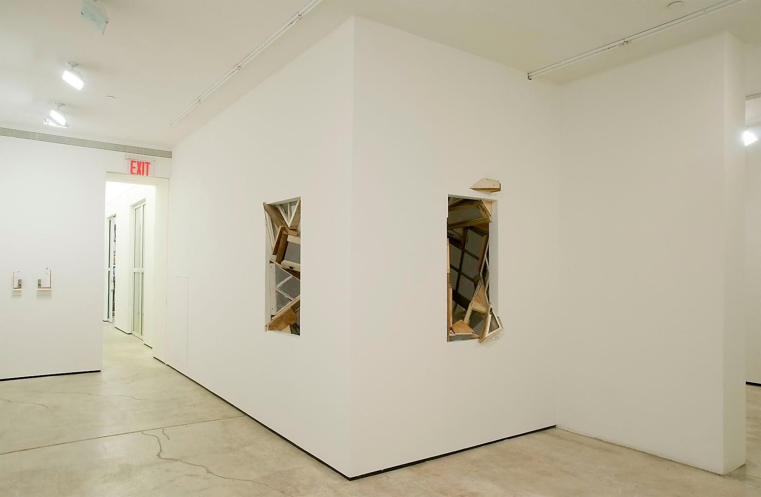 Installation view, Meredith James, Espalier, Marc Jancou, New York, April 17 - May 22, 2010