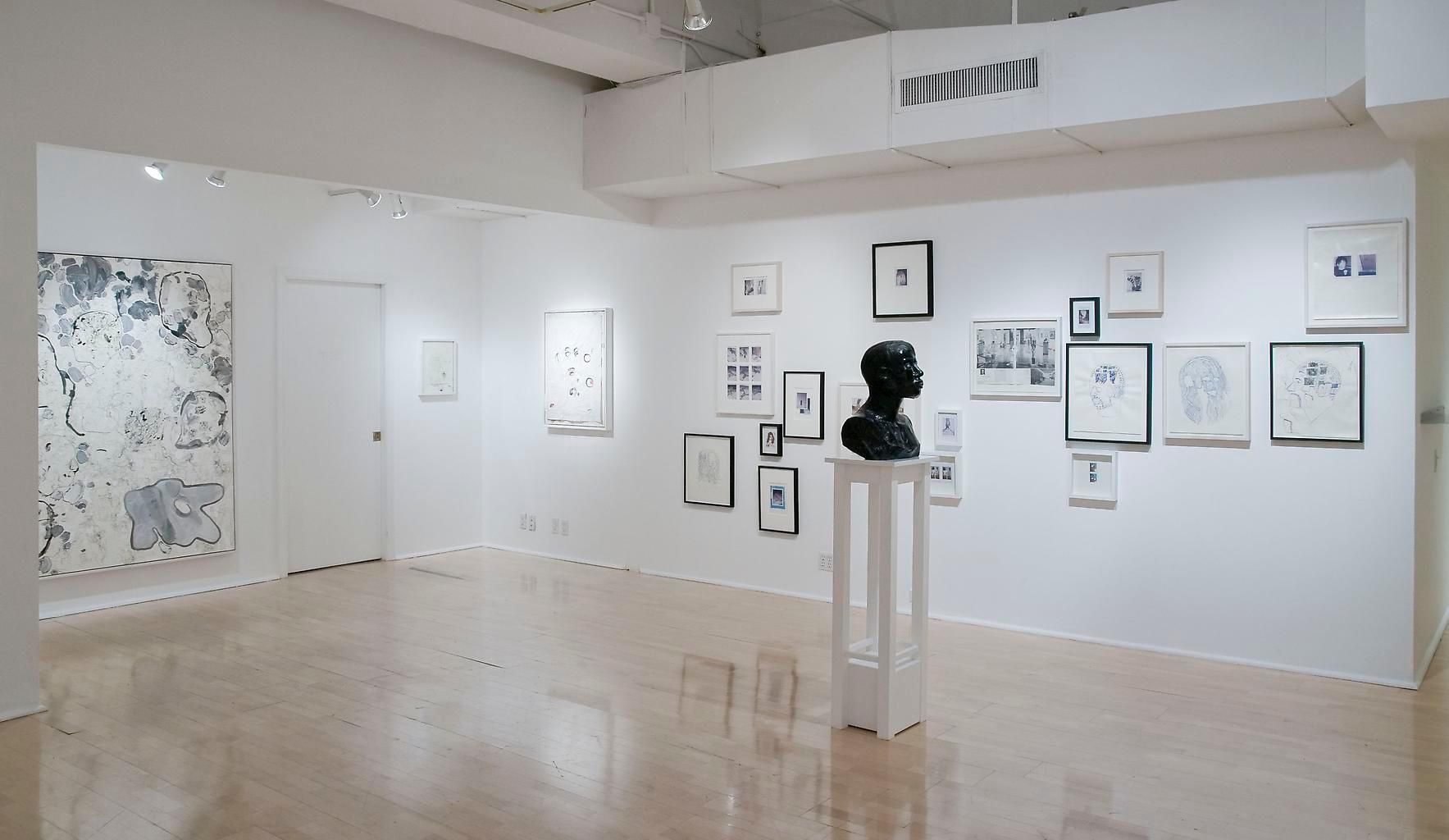 Installation view, Carter, Some Feelings, 1984, 1970, Marc Jancou, New York, May 11 - June 29, 2013
