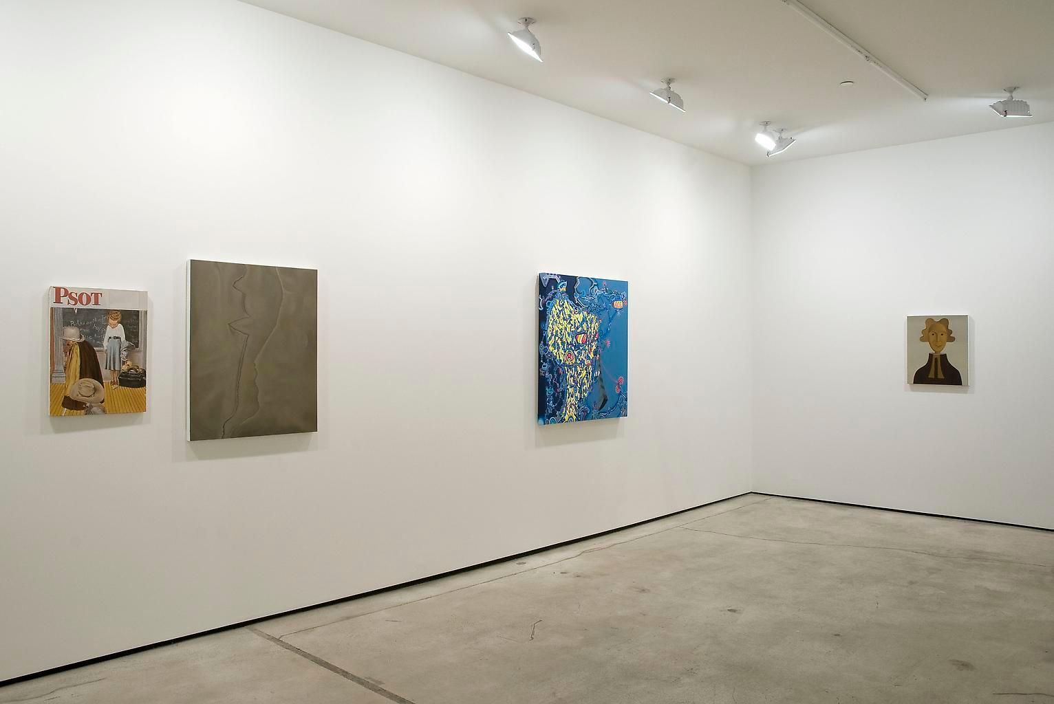 Installation view, Private Future, Marc Jancou, New York, December 9, 2010 - January 29, 2011