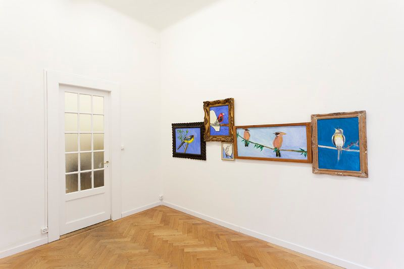 Installation view, Vahakn Arslanian, Wings of Light: Part II, Marc Jancou, Geneva, November 2 - December 14, 2013