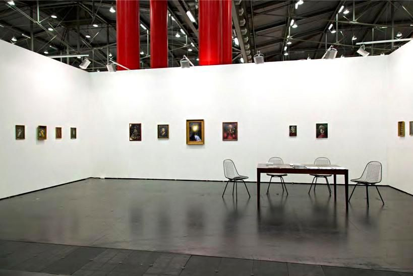 Installation view, Marc Jancou at Viennafair, September 20 - 23, 2013, 	Ross Chisholm: New Work