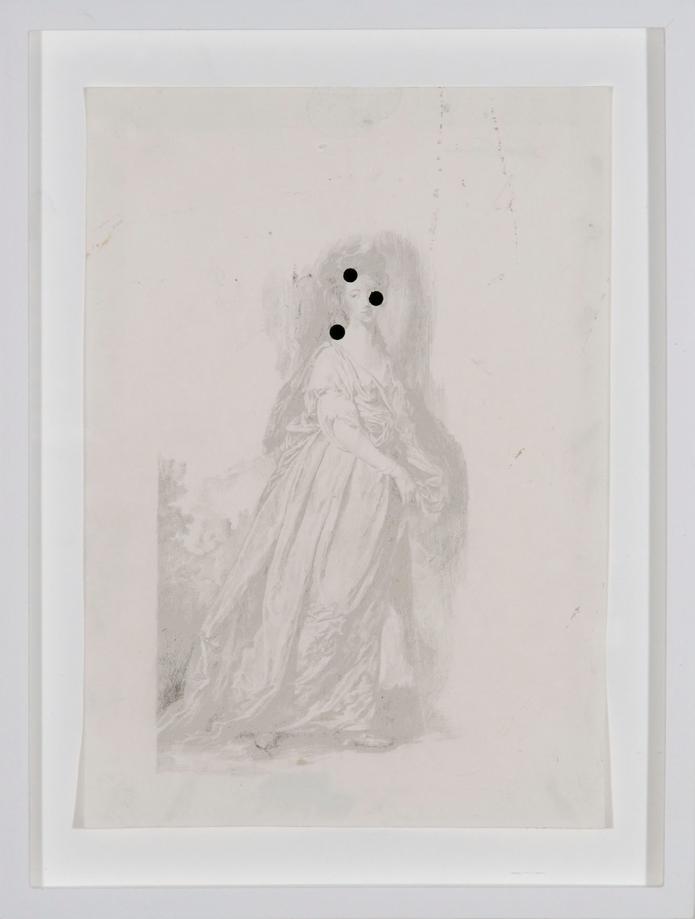 Ross Chisholm, Untitled (Three Spots)