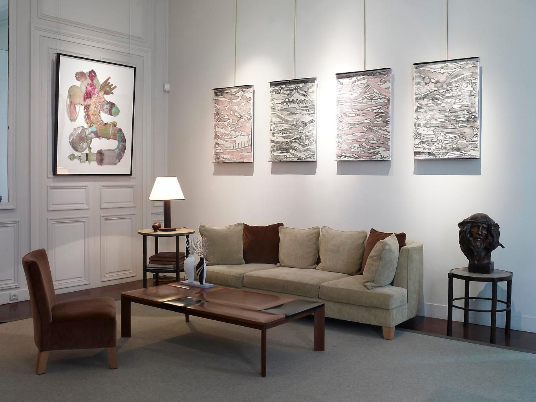 Installation view, Rive Gauche / Rive Droite, Saint Honoré Art Consulting, Paris, September 9 - September 25, 2010