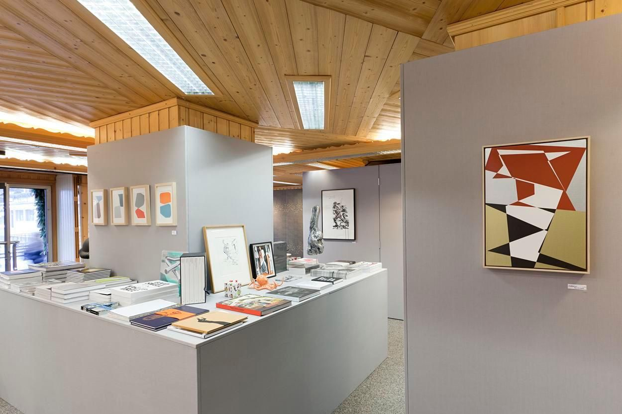 Installation view, Pop-up Art Shop at Hom Le Xuan, Gstaad, December 23, 2013 - March 19, 2014