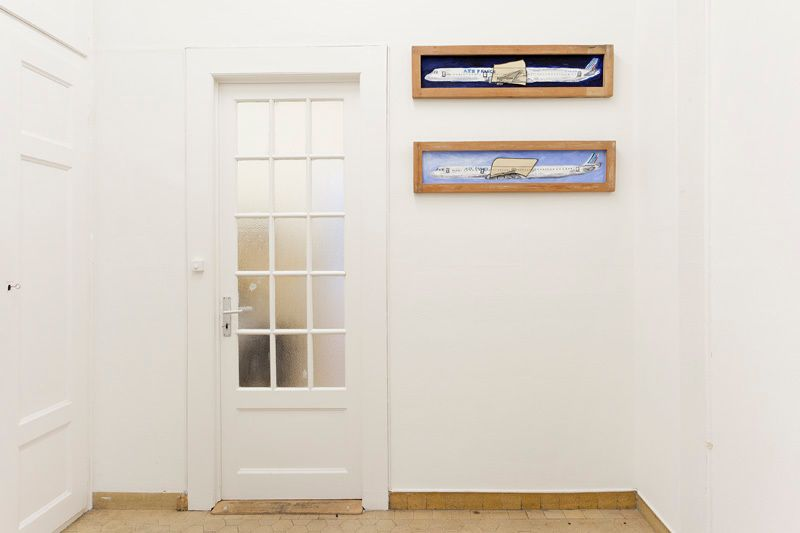 Installation view, Vahakn Arslanian, Wings of Light: Part II, Marc Jancou, Geneva, November 2 - December 14, 2013
