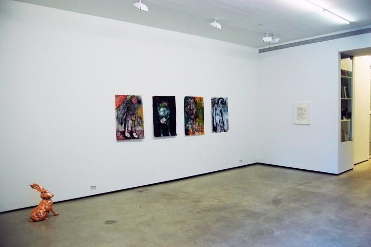 Installation view, Summer Group Show, Marc Jancou, New York, August 4 - September 2, 2011