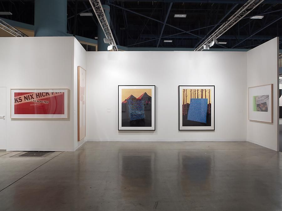 Installation view, Larry Johnson, Marc Jancou at Art Basel Miami Beach, November 30 - December 4, 2011