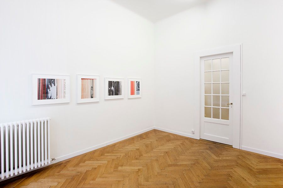 Installation view, Erica Baum, Naked Eye, Marc Jancou, Geneva, November 3 - January 12, 2012