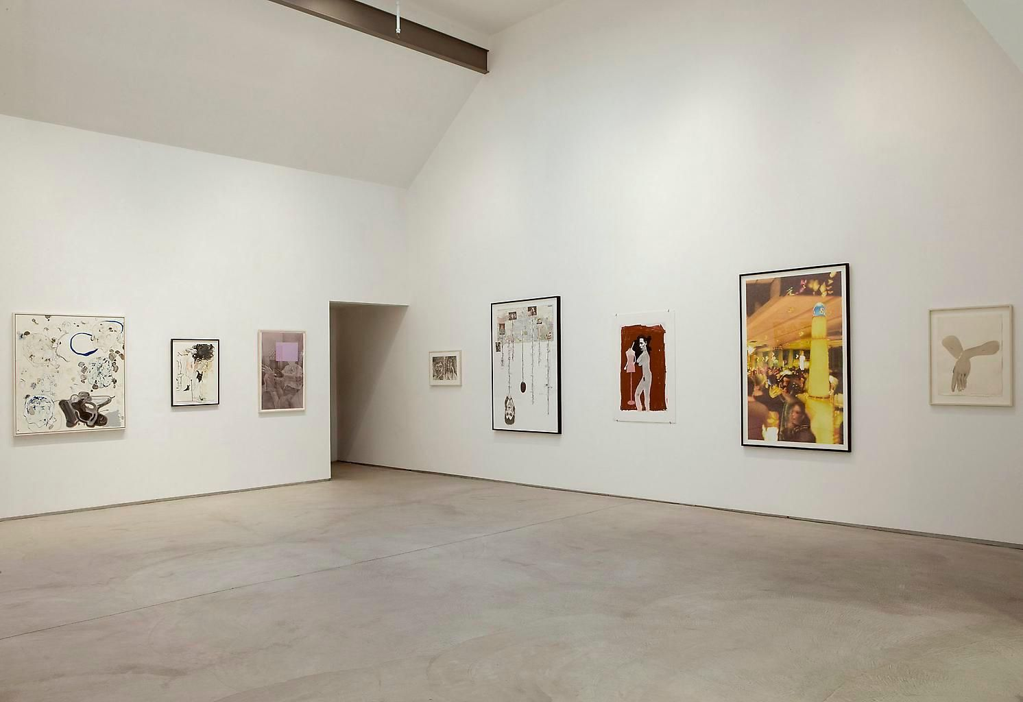 Installation view, Faces and Figures (Revisited), Marc Jancou, New York, September 12 - October 25, 2008