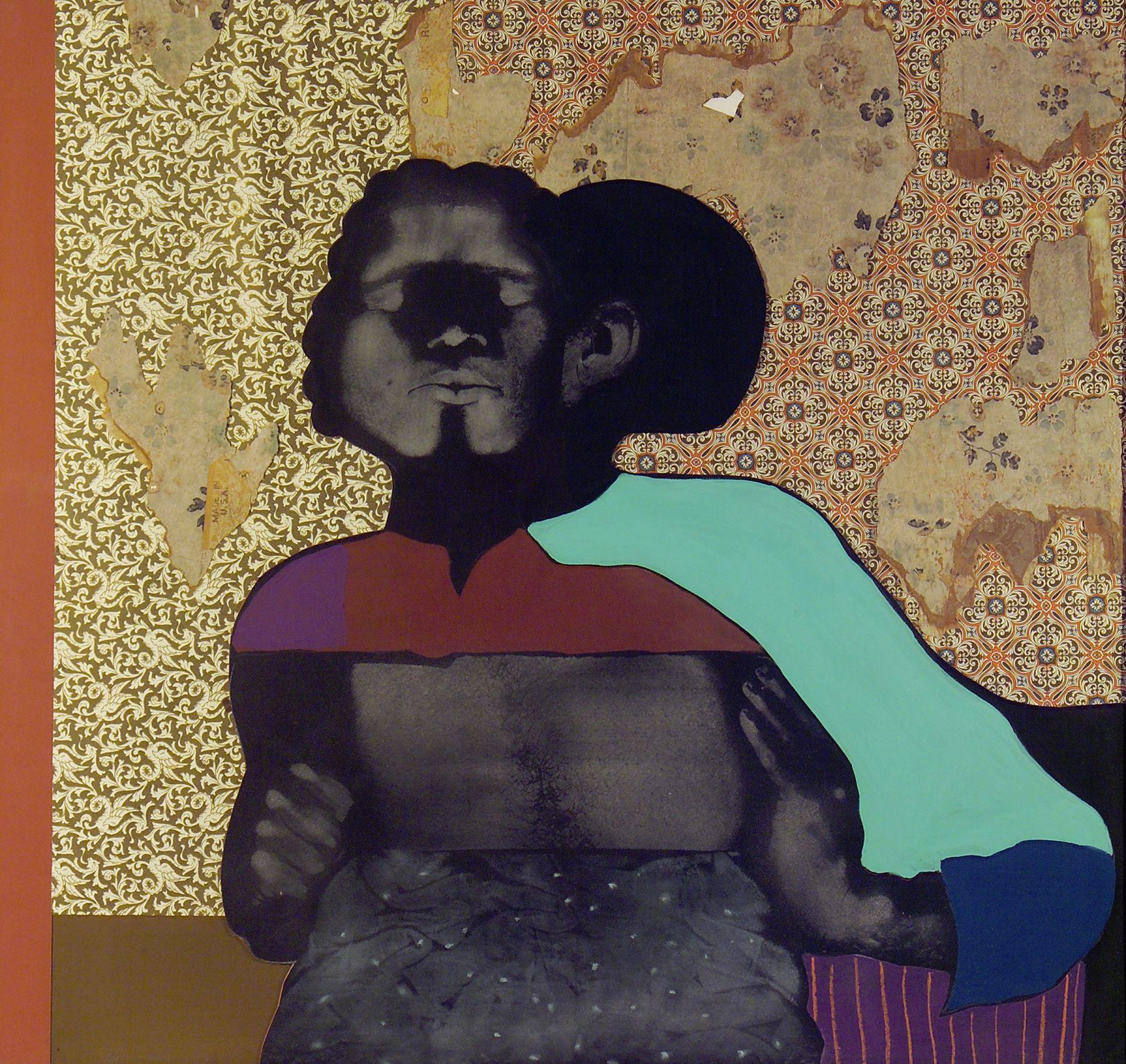 David Hammons Ebony Kiss, 1974