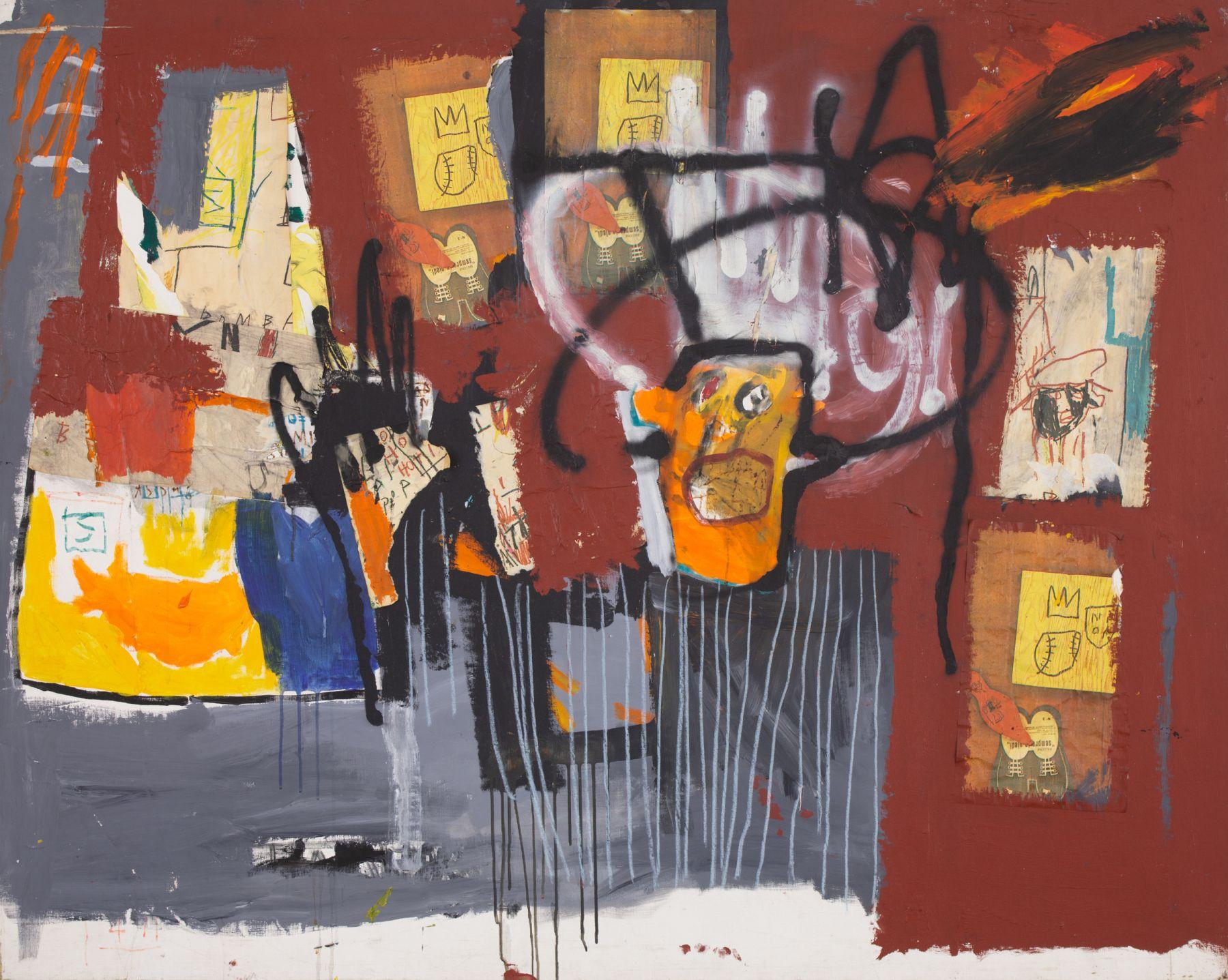 BA.41337 Basquiat Untitled