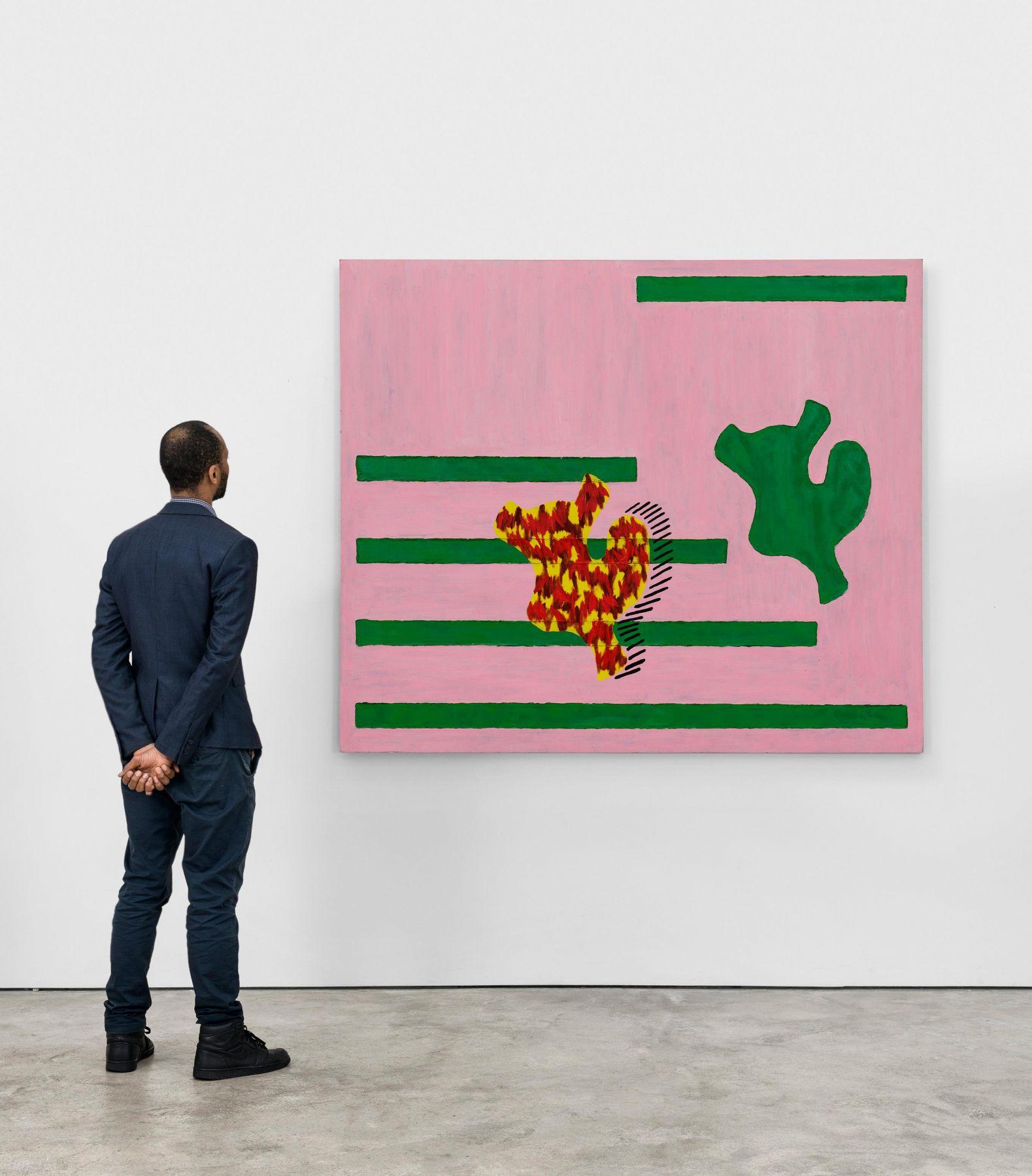 Jonathan Lasker - Installation View