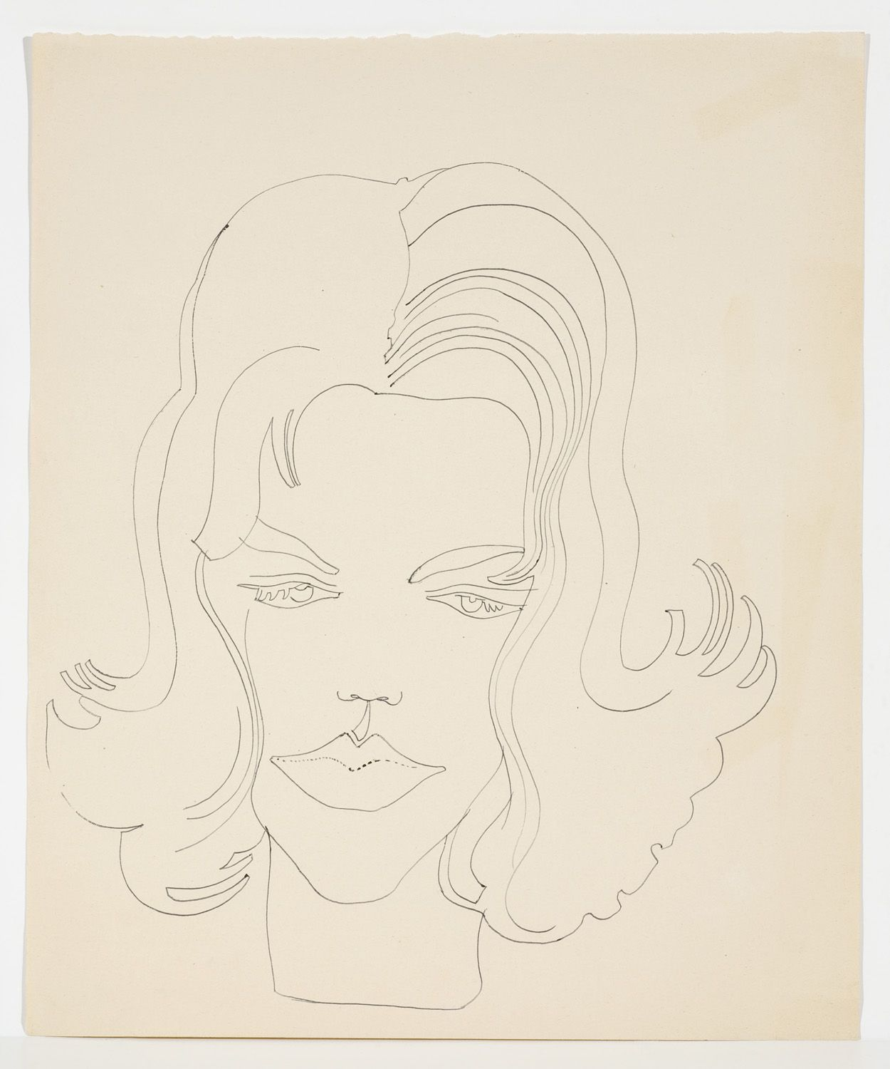 Andy Warhol - Unidentified Female