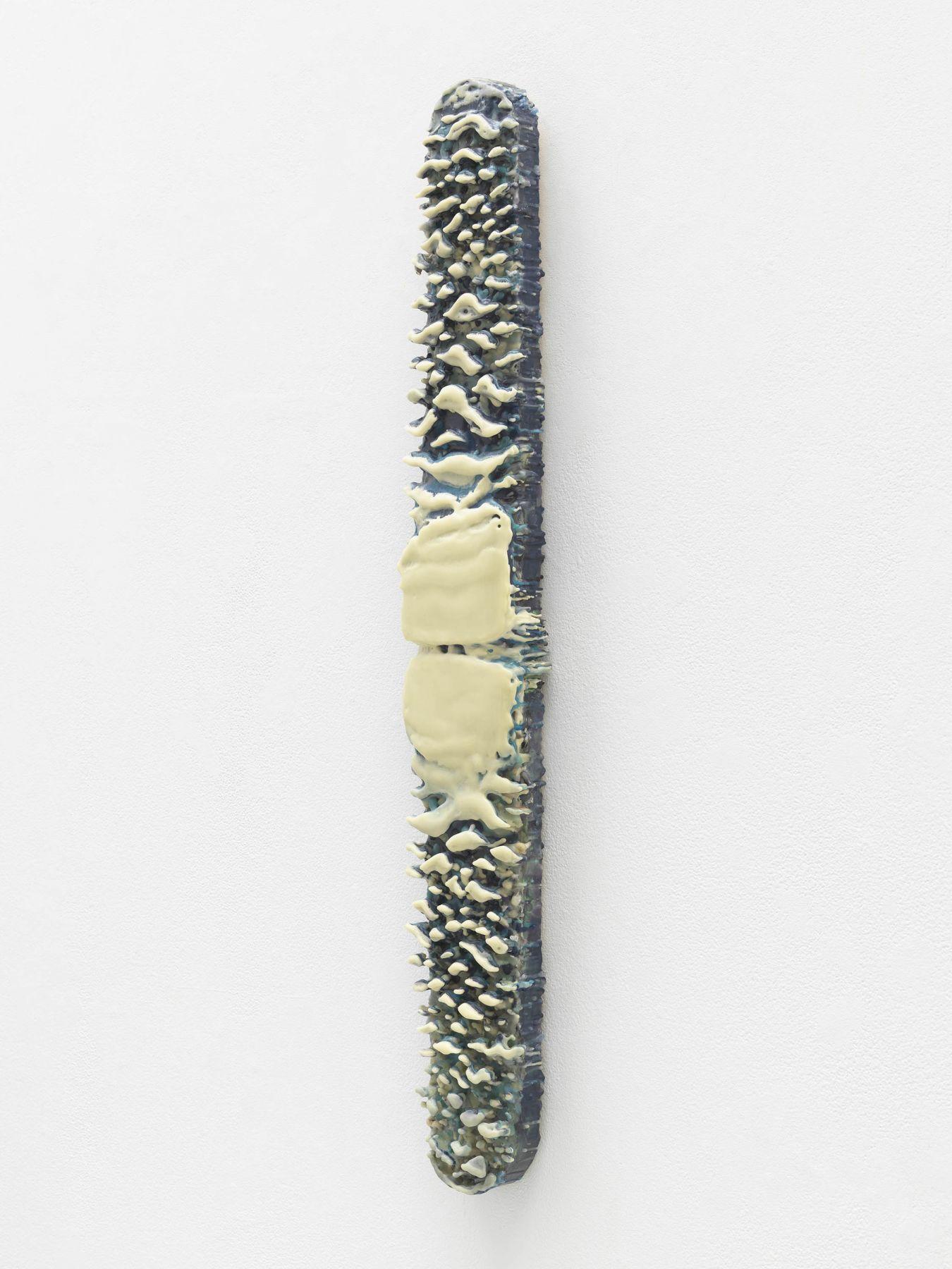 BE.40084 Benglis Untitled (blue lozenge)