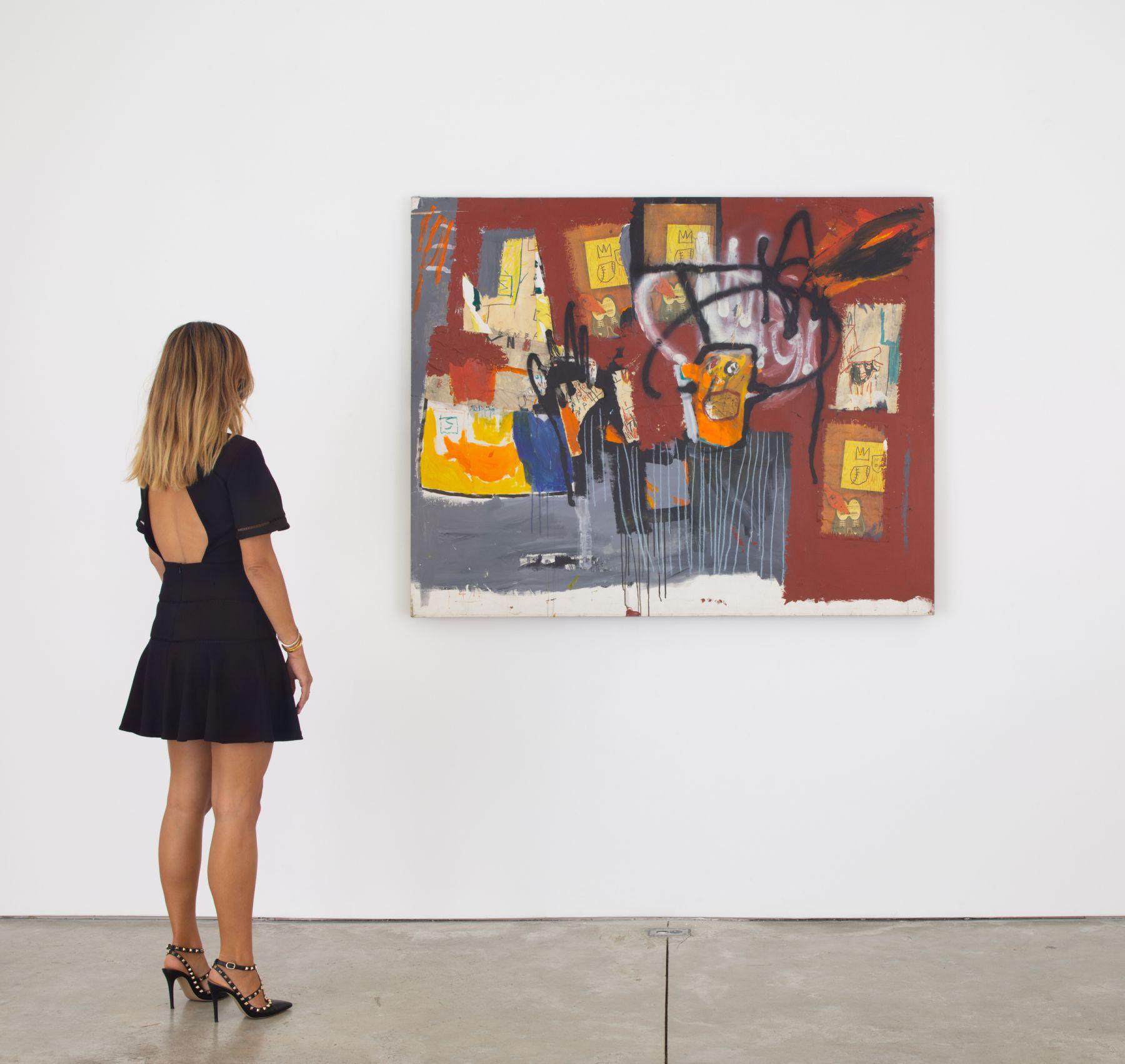 BA.41337 Basquiat Untitled - figure