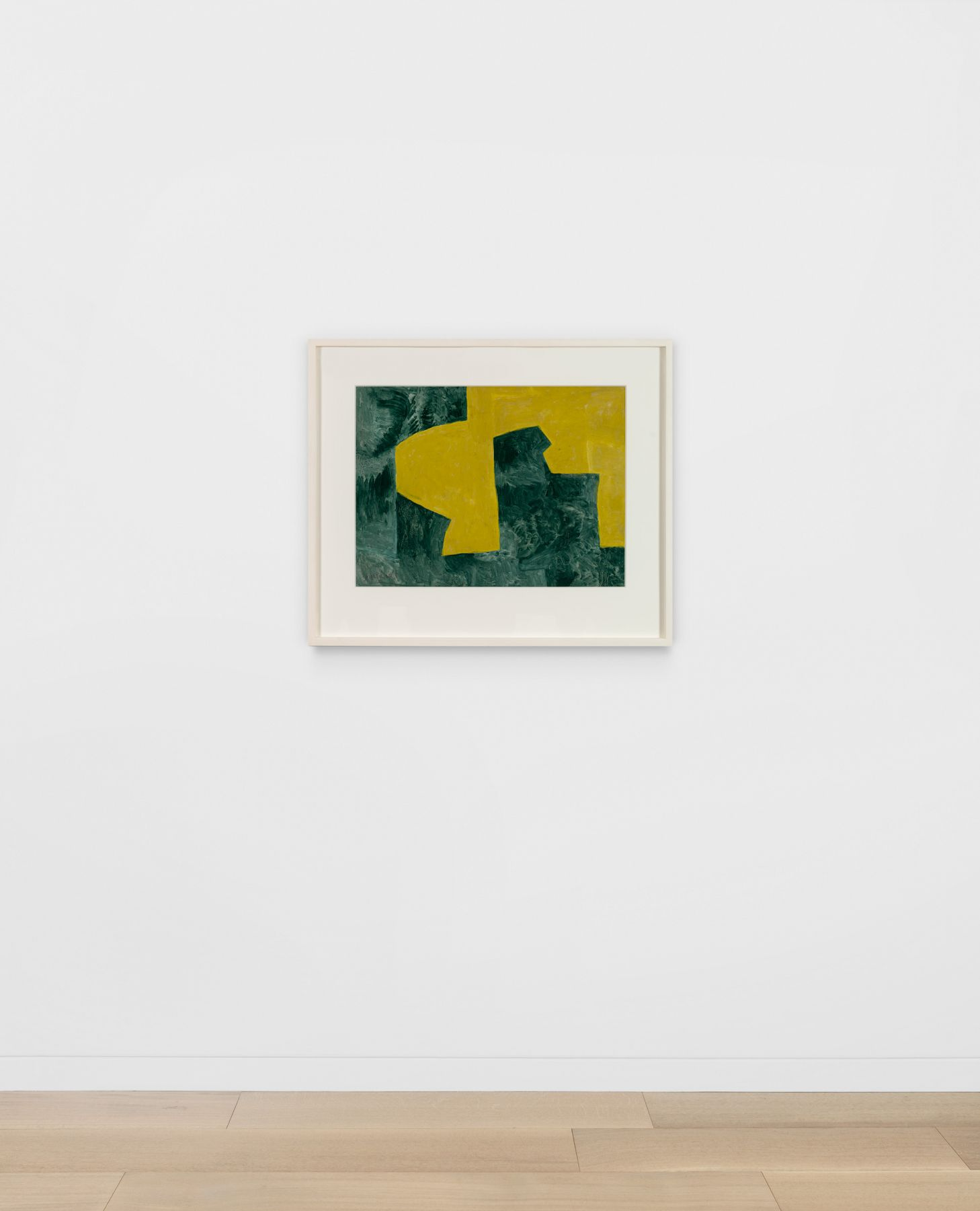 Serge Poliakoff - Jaune et Vert 1