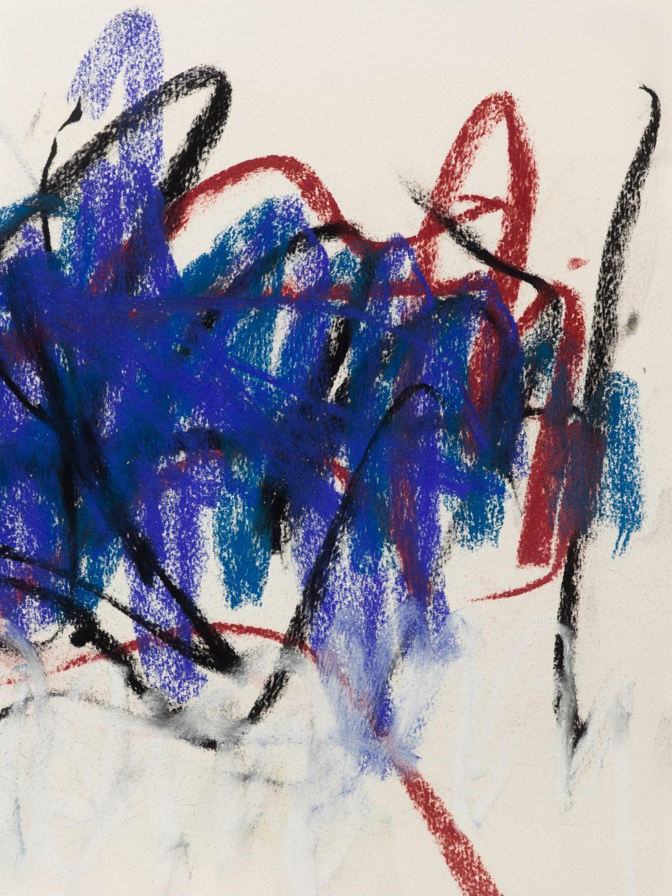 MI.15532 Mitchell Untitled (pastel) - figure