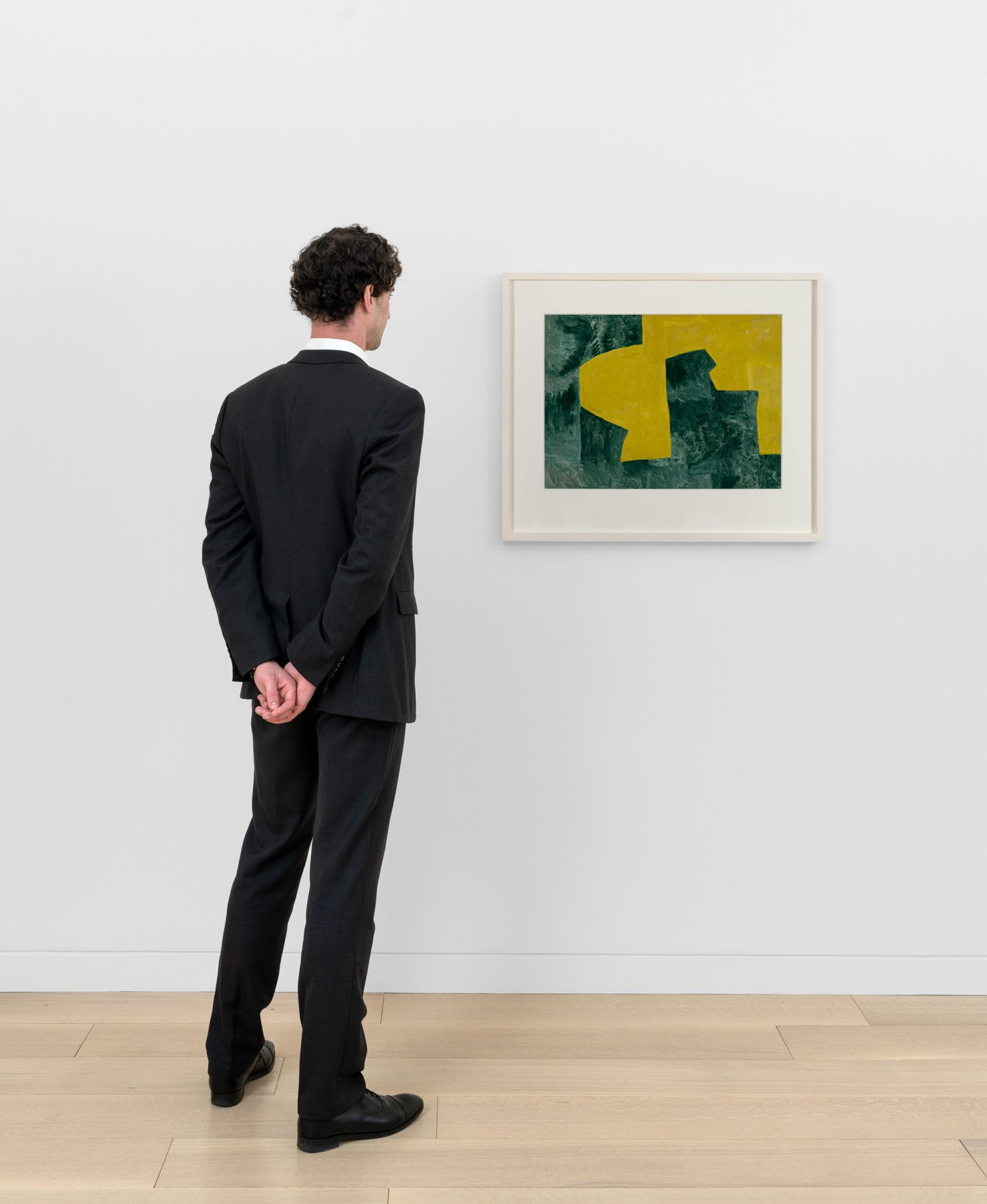 Serge Poliakoff - Jaune et Vert 2