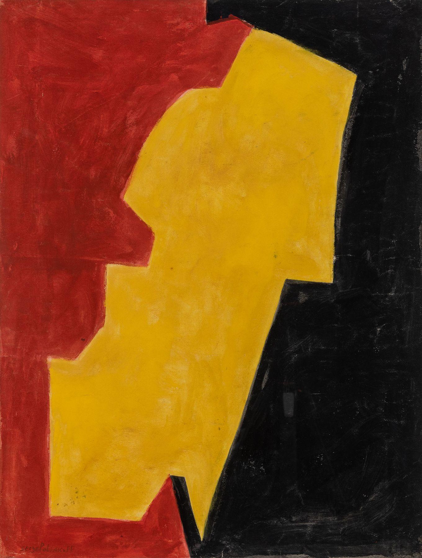 SP.19282 1 - ROUGE, JAUNE ET NOIR (1951)