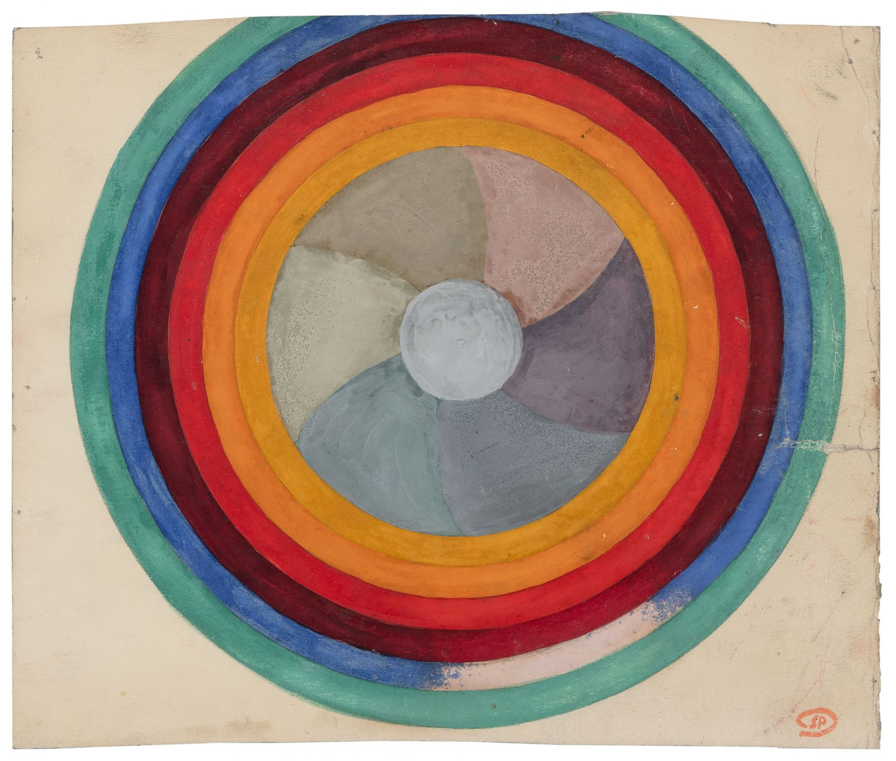SP.40241 1 - ÉTUDE DE CERCLES (1938)