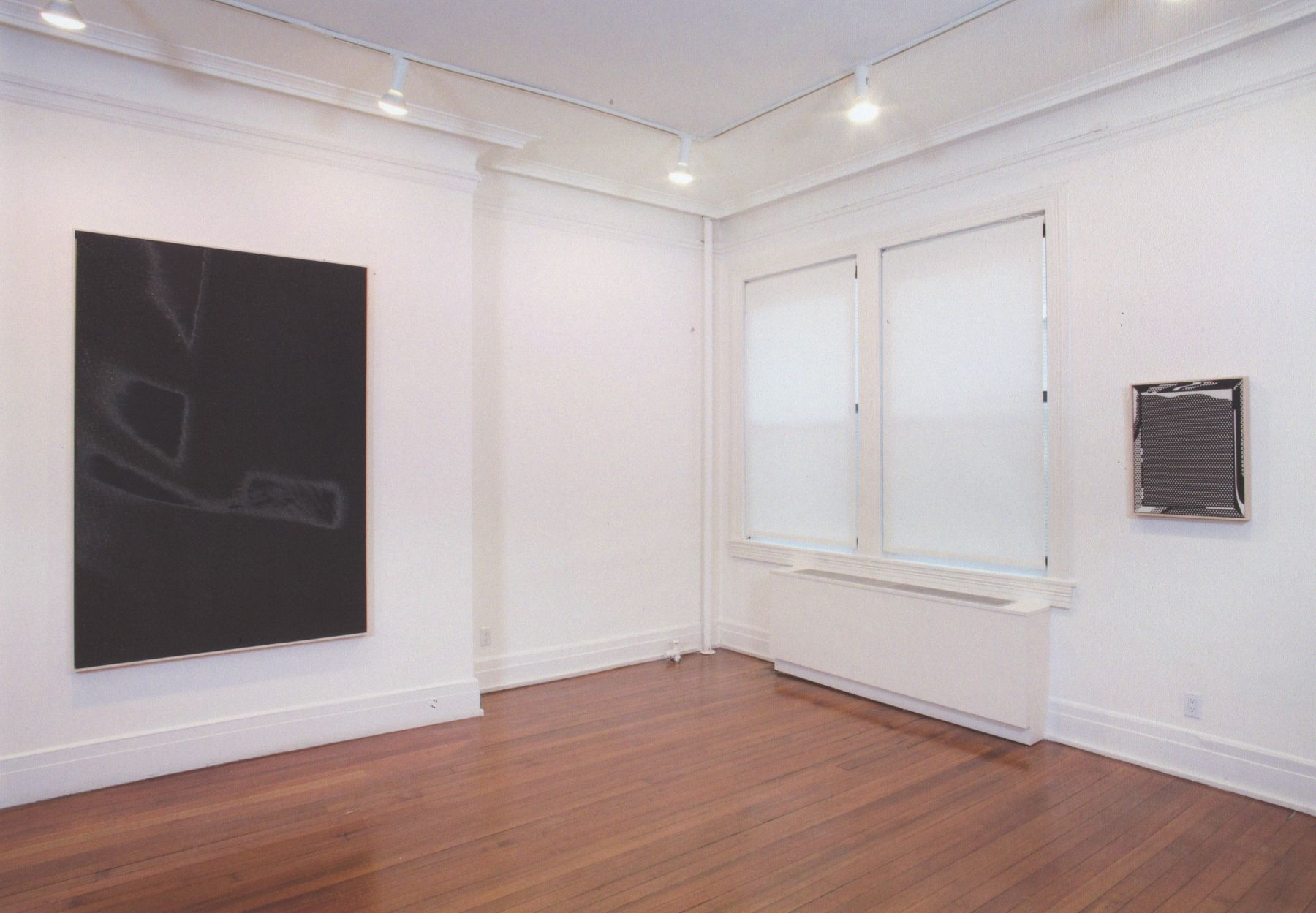 Installation view, Reflected in the Mirror There Was a Shadow, 18 EAST 77.
