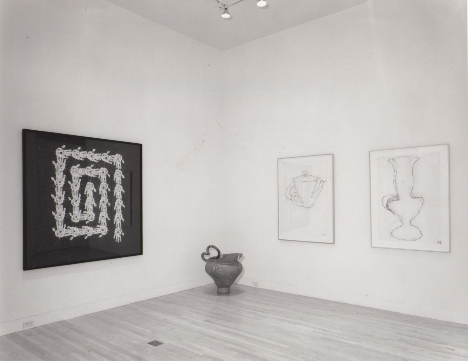 Installation view, Summer Group Show, 65 THOMPSON.
