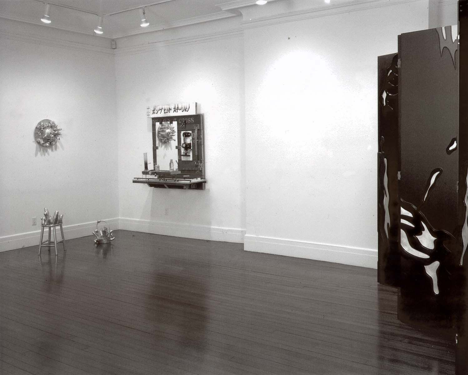 Installation view, Homestyle, 18 EAST 77.